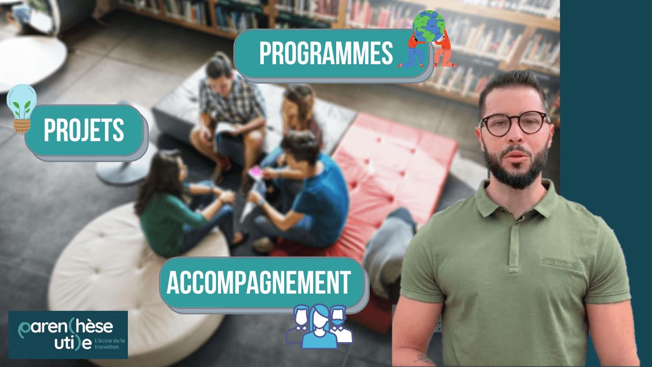 Programmes & objectifs de l'école